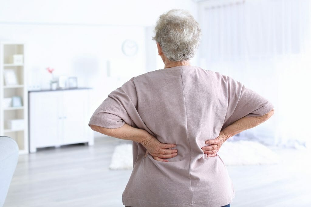 mild facet joint disease in old age