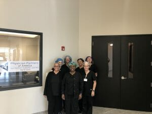 Merritt Island Outpatient Surgery Center staff