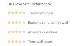 Dr Anthony Clavo Healthgrades